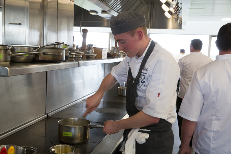 Thomas Reeves, L'Enclume Protégé Scoops 2017 North West Young Chef Crown
