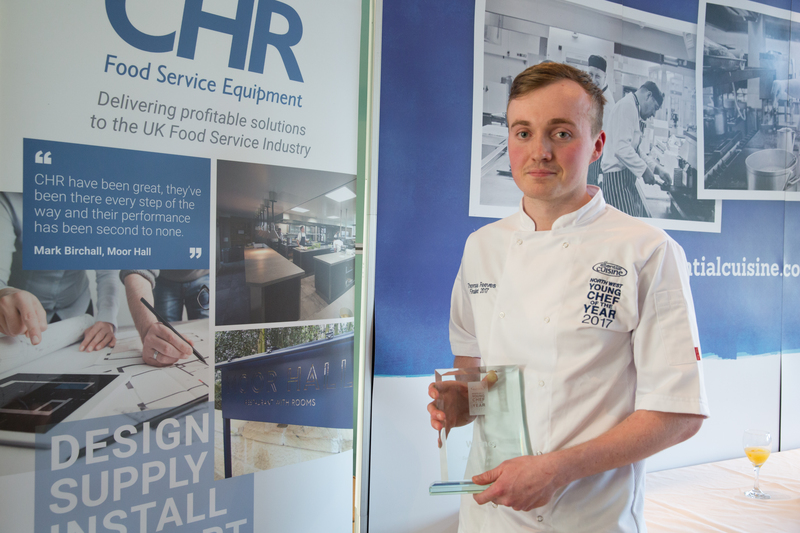 Thomas Reeves, L'Enclume Protégé Scoops 2017 North West Young Chef Crown - 4