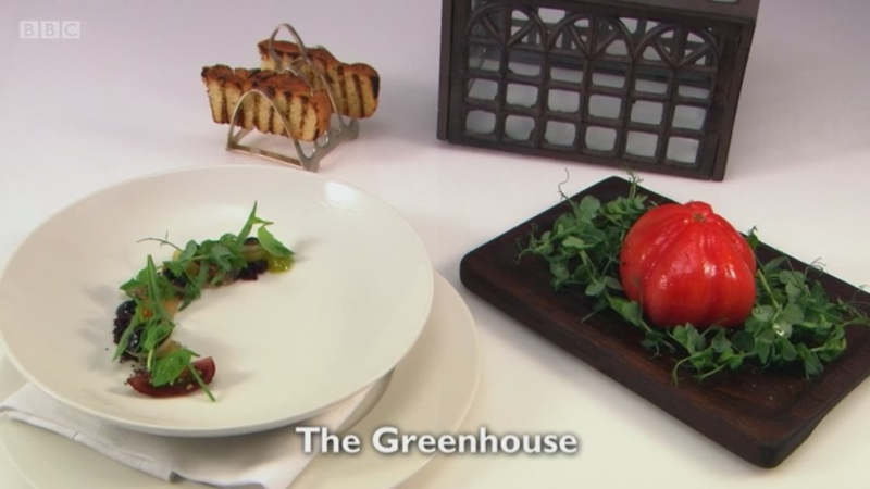 The Greenhouse - my starter for Great British Menu 2017