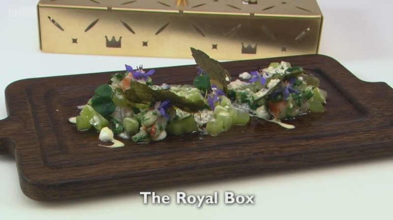 The Royal Box - recipe for my Great British Menu 2017 fish course
