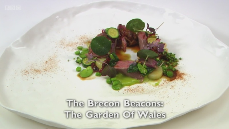 The Brecon Beacons, The Garden of Wales - my main for Great British Menu 2017