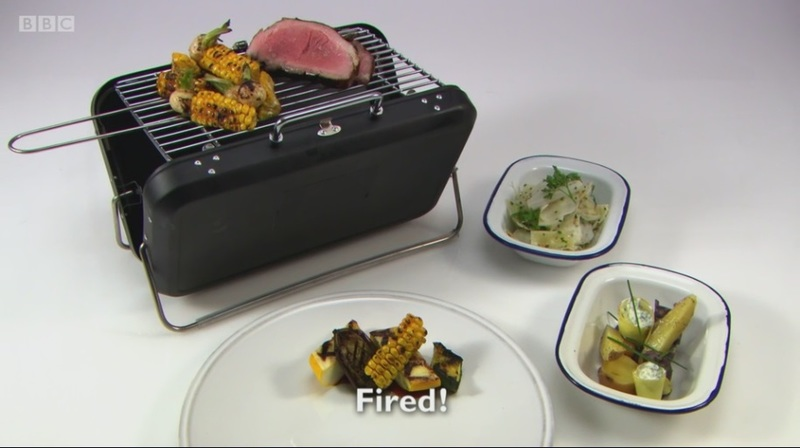 Fired! My main for Great British Menu 2017