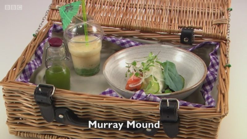 Murray Mound - my fish course for Great British Menu 2017