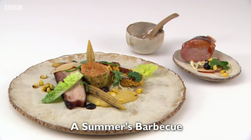 A Summer's Barbecue - my main for Great British Menu 2017