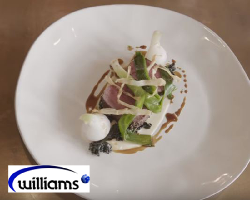 Venison loin with parsley root puree from Luke Matthews, executive head chef at Chewton Glen - 3
