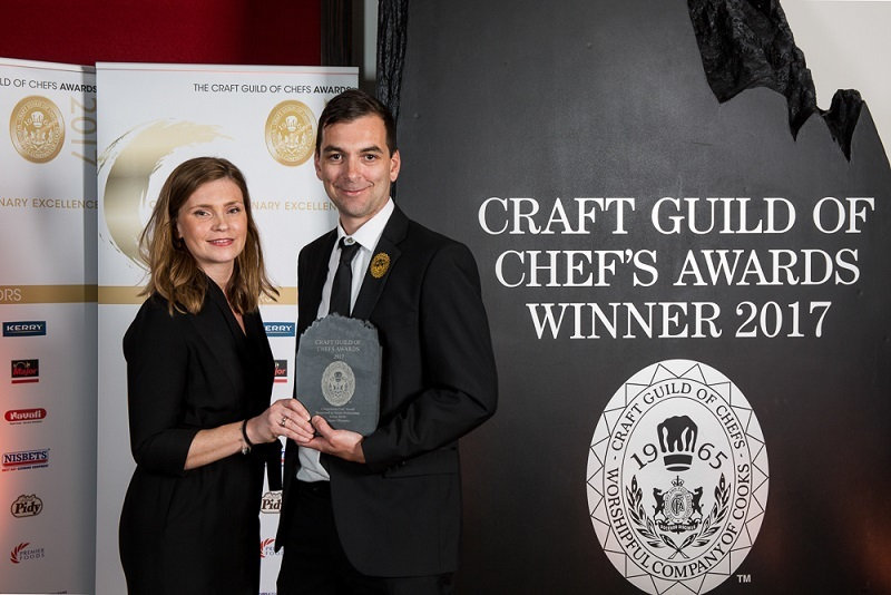 CHEF CELEBRATES CULINARY TALENT AND DIVERSITY AT THE CRAFT GUILD OF CHEFS AWARDS