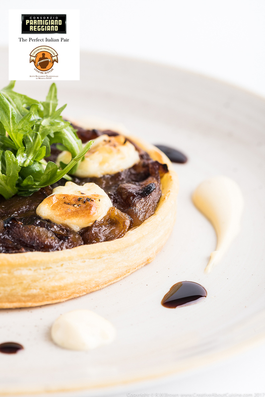 Aceto Balsamico Tradizionale Di Modena P.D.O. roasted onion tart with thyme cream - 2