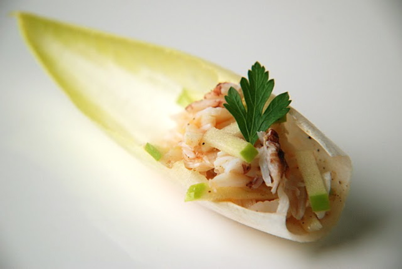 Crab and Endive salad