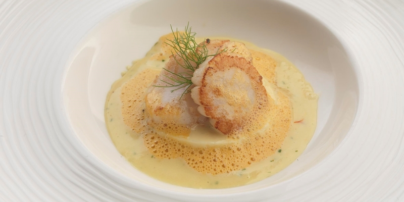 Warm Timbales of Scallop Mousse - Alain Roux