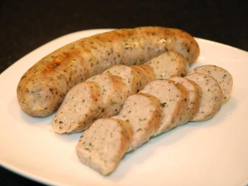 Duck or goose sausages