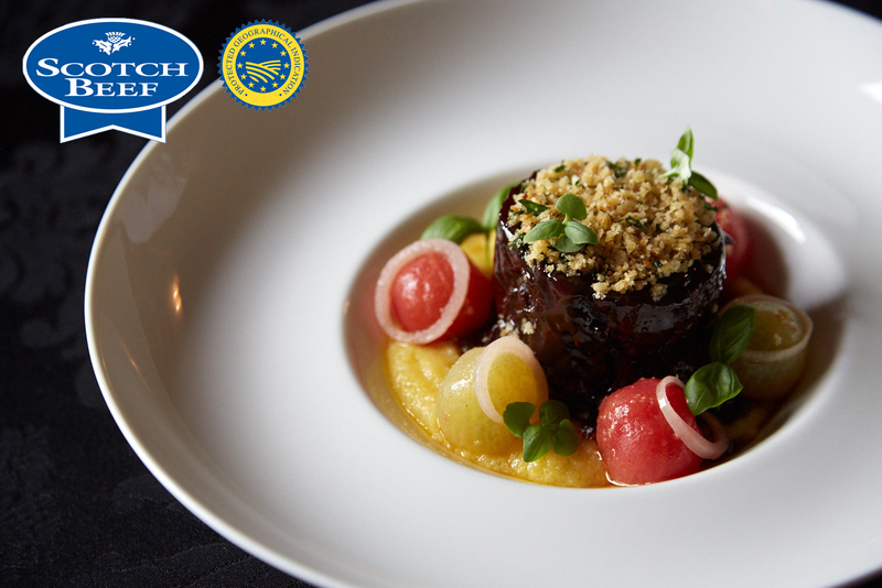Slow-cooked blade of Angus Scotch Beef, bone marrow polenta, confit tomatoes, parmesan and lemon crumb - 3