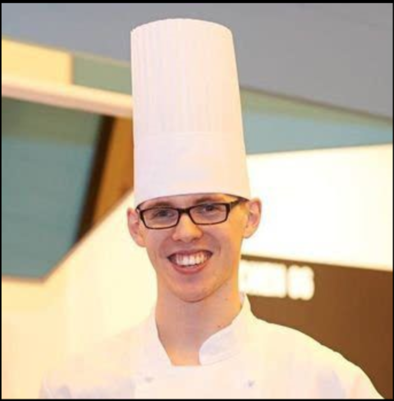 Jamie Houghton wins the 2017 UK Pastry Open