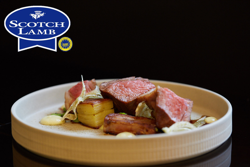 Roasted Scotch Lamb rump, slow cooked belly with potato & fennel terrine - 3