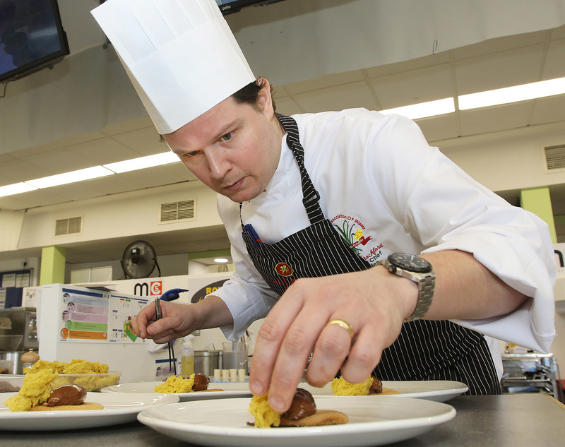 National competitions offer Welsh chefs a stage to become a star