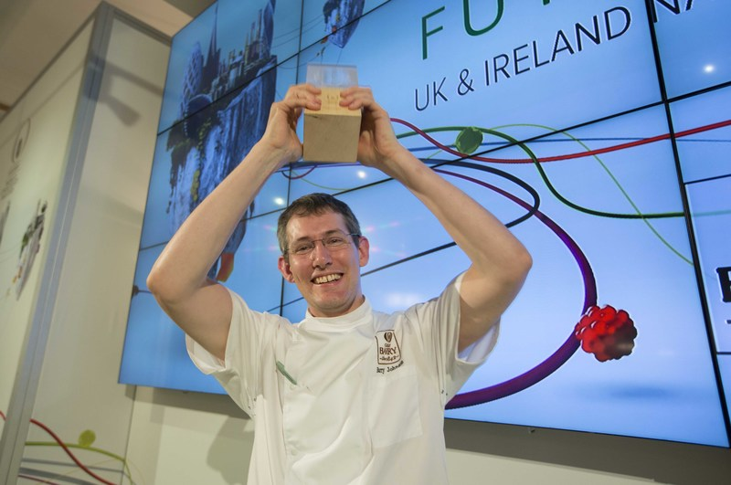 Barry Johnson wins UK and Irish national selection of the World Chocolate Masters