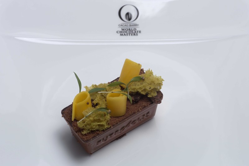 Barry Johnson wins UK and Irish national selection of the World Chocolate Masters - 2
