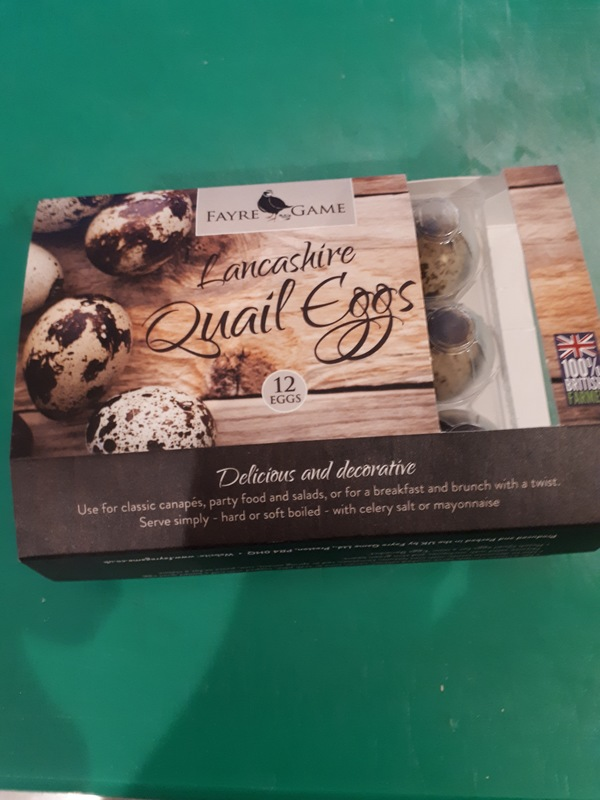 Our delishous quail eggs