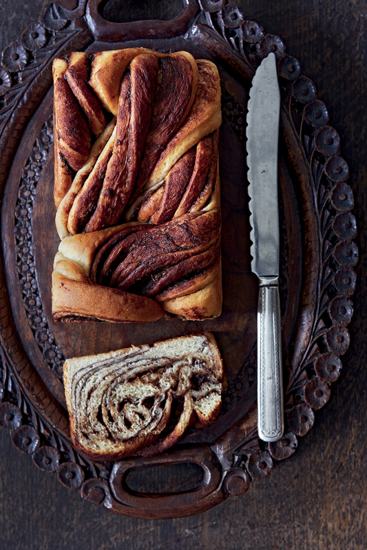Chocolate Twist Loaf by Julie Jones