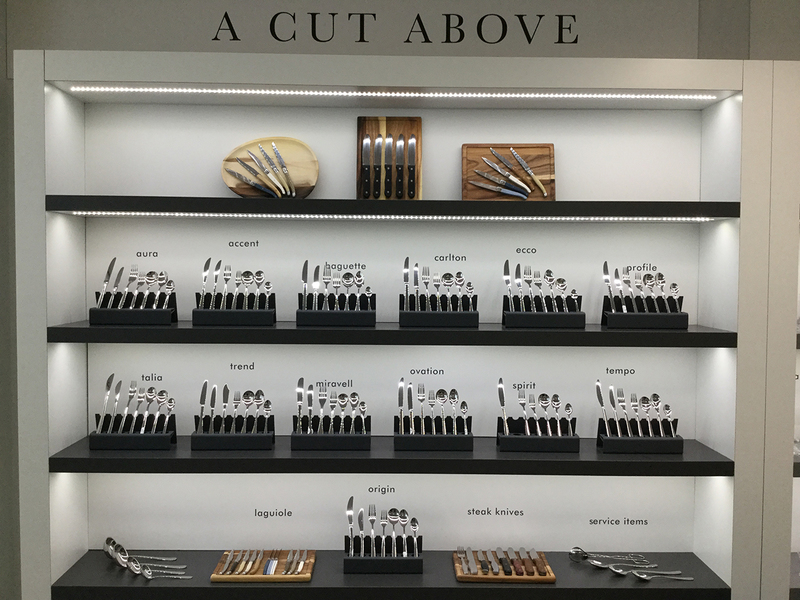 Check out the array of cutlery on display at #SteeliteLondon
