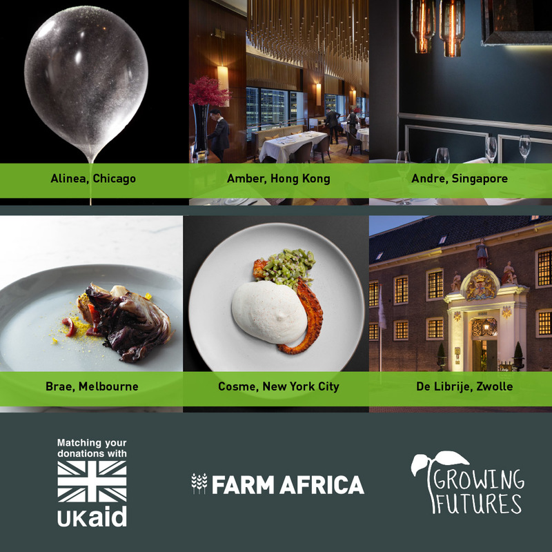Top restaurants donate dining experiences to Farm Africa's Growing Futures appeal - 1