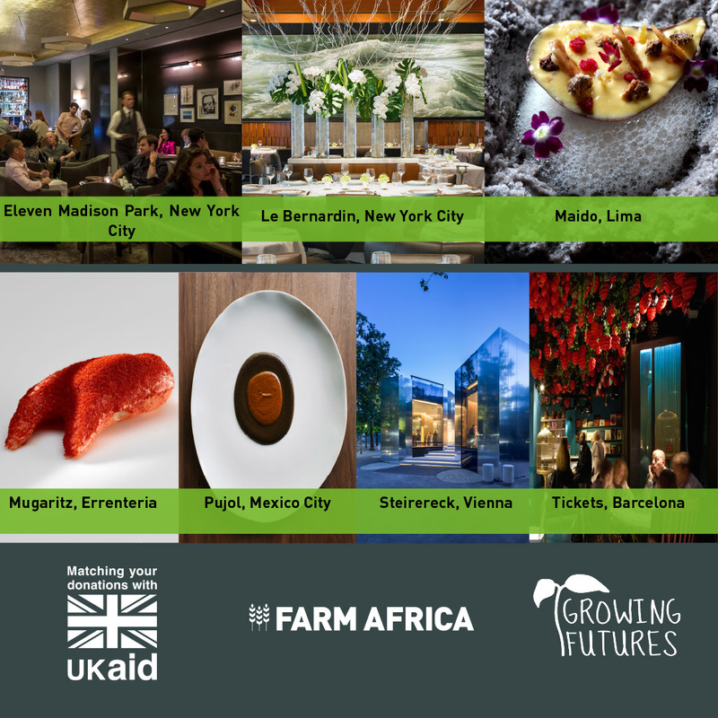 Top restaurants donate dining experiences to Farm Africa's Growing Futures appeal - 2