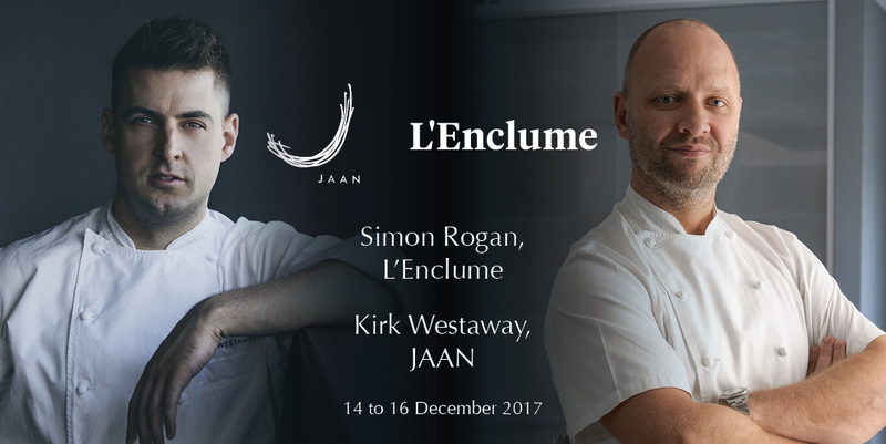 JAAN Rounds the Year with Another Remarkable Four Hands Collaboration Series, with Michelin-Starred Chef Simon Rogan and Chef Kirk Westaway