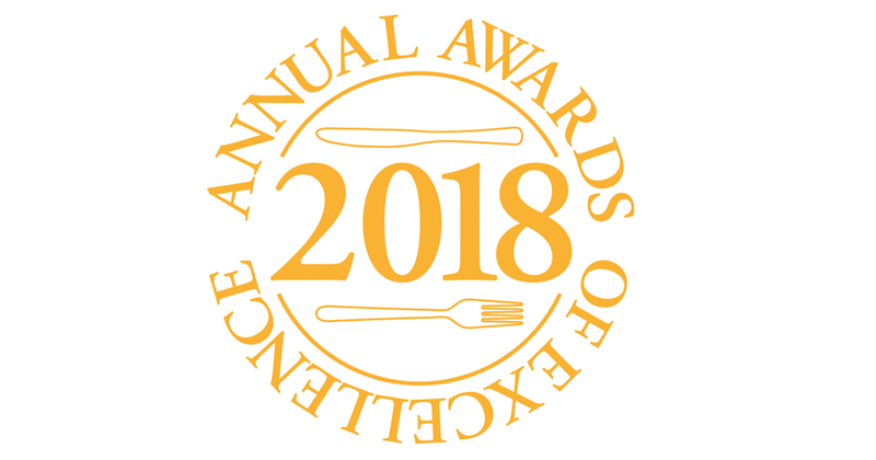 ROYAL ACADEMY OF CULINARY ARTS ANNUAL AWARDS OF EXCELLENCE 2018 IS NOW OPEN FOR ENTRIES!