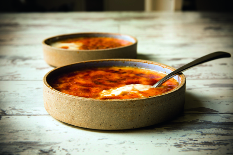 Crema Catalana taken from 'Back in the Saddle' cookbook