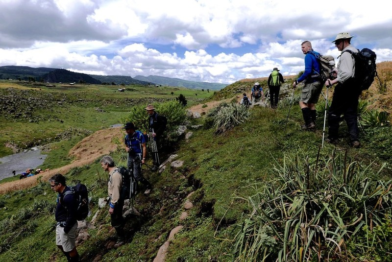 For the crater good: food execs trek volcano for Farm Africa