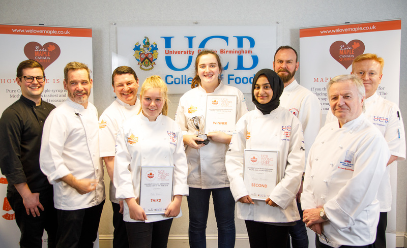 Maple magic helps Jo scoop UCB Young Chef of the Year