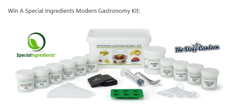 Win A Special Ingredients Modern Gastronomy Kit Worth £54.95