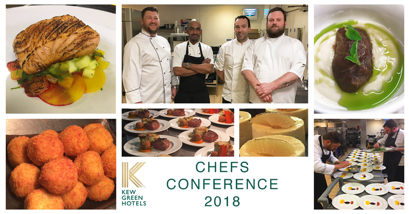 Our bi-annual Chef Conference - Kew Green Hotels