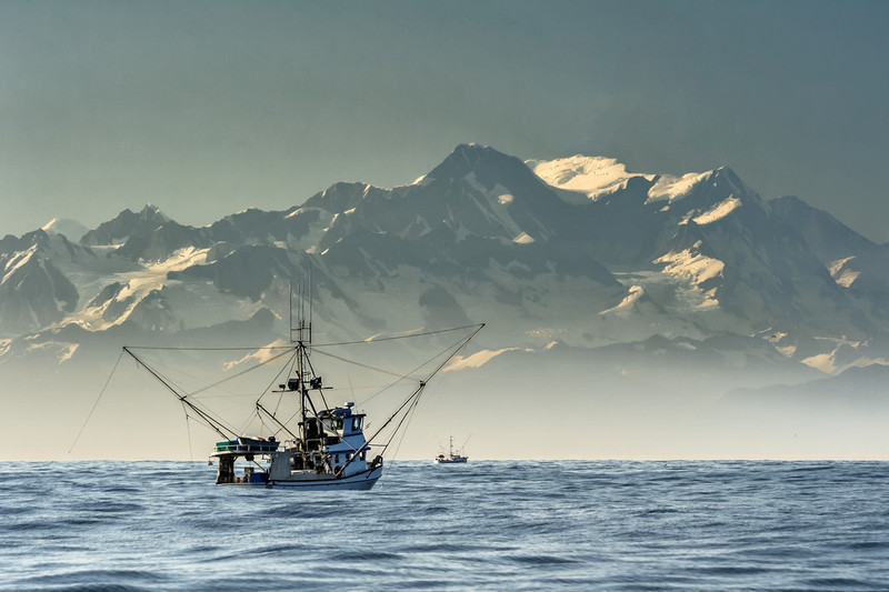 Sustainable fishing in Alaska by Adam Reid