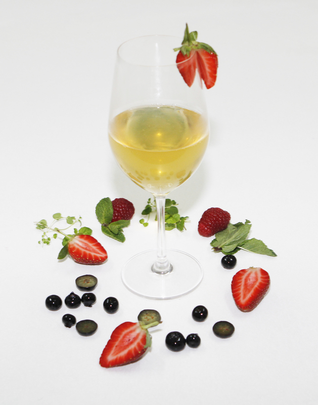 Dessert Wine Gel Using Special Ingredients Gellan Gum