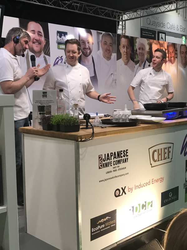 Ashley Palmer-Watts and Jonny Glass at #TSCLive at Hotelympia 2018