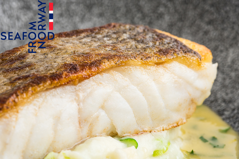 Roast Norwegian Skrei Cod with spring onion mash, caper and lemon butter sauce - 2