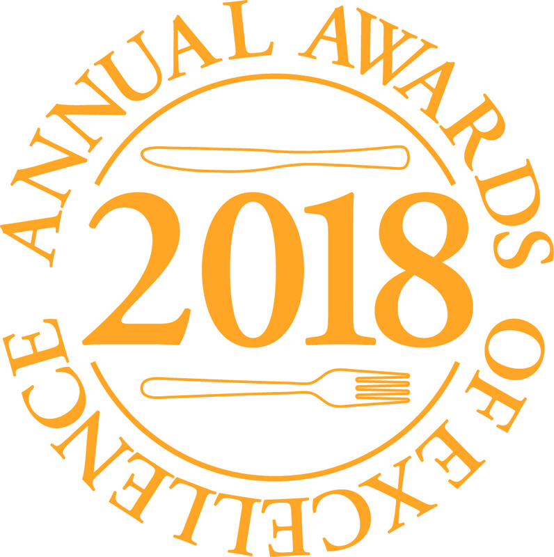 ROYAL ACADEMY OF CULINARY ARTS ANNOUNCES FINALISTS  FOR ANNUAL AWARDS OF EXCELLENCE 2018