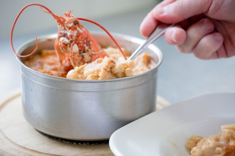 Lobster Macaroni and cheese recipe by Nick Deverell-Smith
