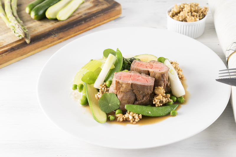 Sous Vide Spring Lamb Recipe by Benn Hodges