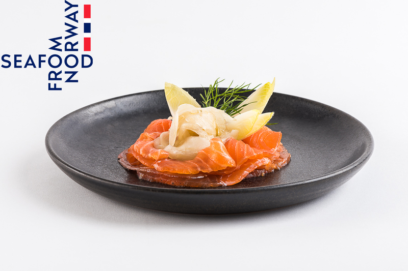 Whisky Cured Norwegian Salmon with pickled fennel by Seafood from Norway - 1