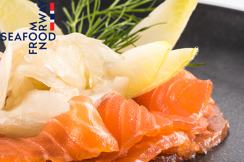 Whisky Cured Norwegian Salmon with pickled fennel by Seafood from Norway - 2