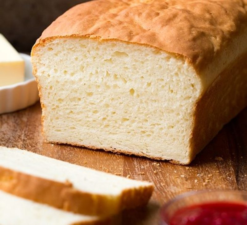 Gluten Free Loaf Using Special Ingredients Xanthan Gum