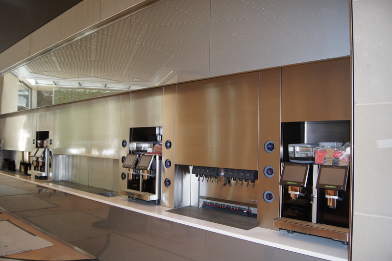 KCCJ install a range of kitchens at the new Bloomberg European HQ (London) - 1
