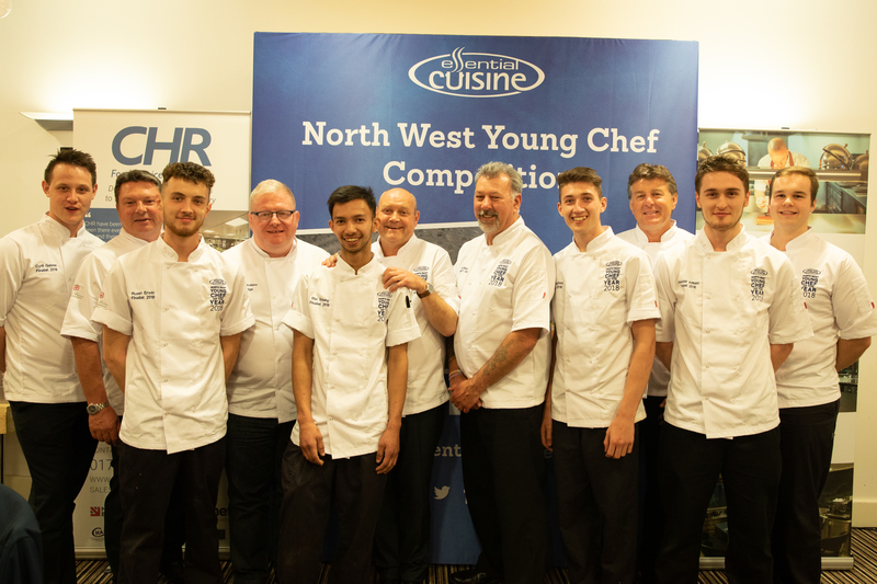 Nice one Cyril! Carden Park Chef Takes North West Young Chef Crown