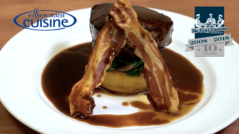 Pan Fried Fillet of Beef with a Port Jus by Essential Cuisine