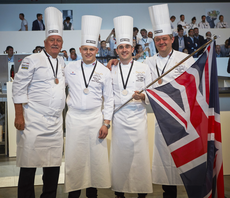Team UK secure place in the Bocuse d'Or World Final