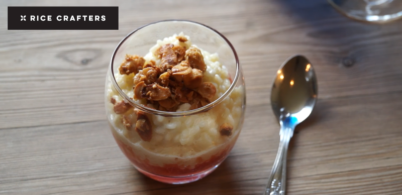 Warm Vanilla Rice Pudding by Dominic Chapman