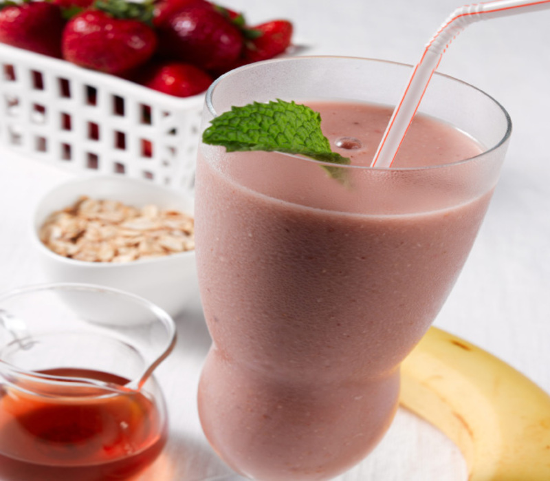 Strawberry and Maple Smoothie recipe