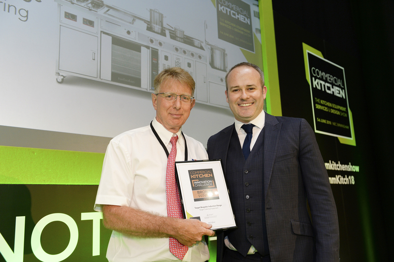Target Bespoke Induction Range Wins In Commercial Kitchen 2018 Innovation Challenge