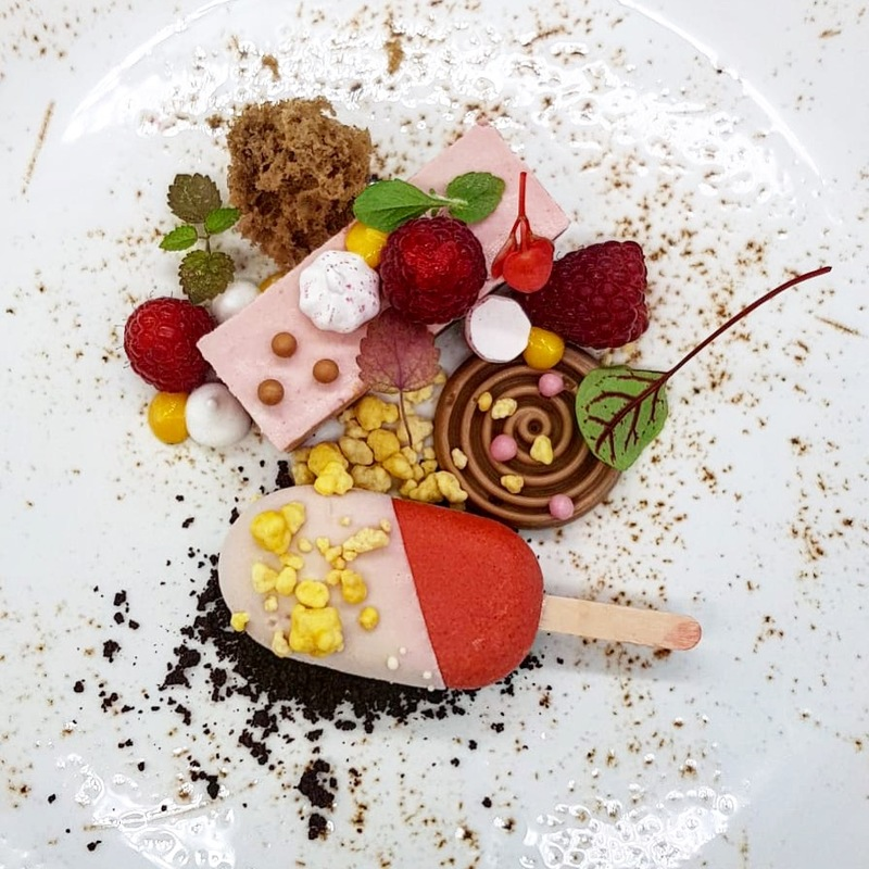 chocolate, raspberry & passion fruit